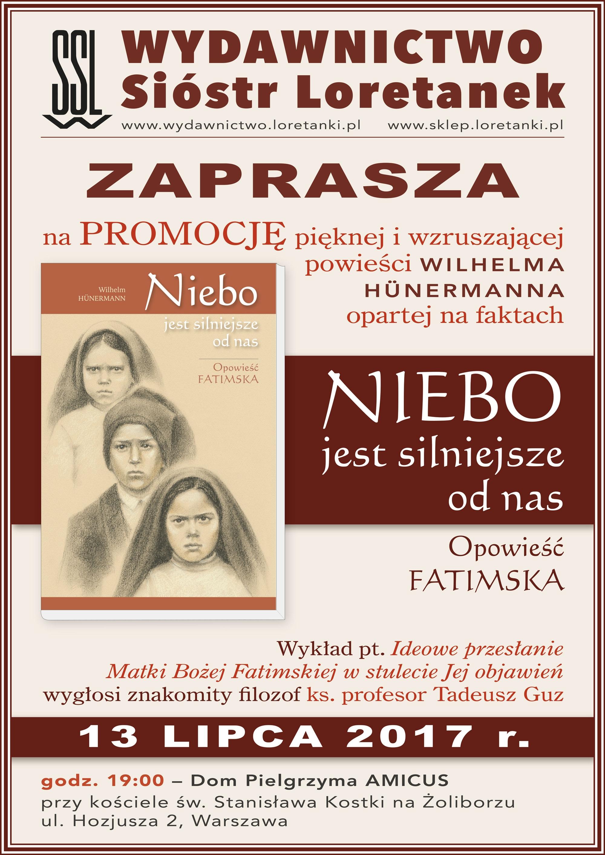 zaproszenie na wykład Księdza Profesora Tadeusza Guza